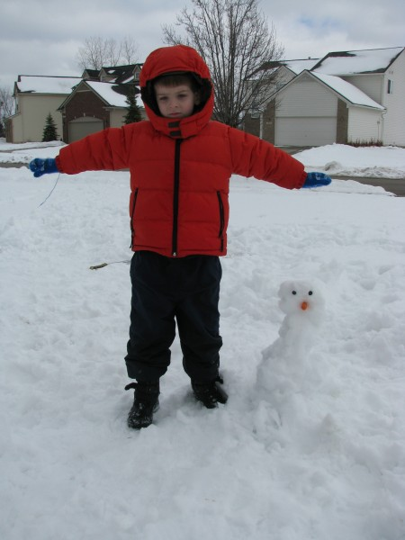 Owen And His Little Snowman