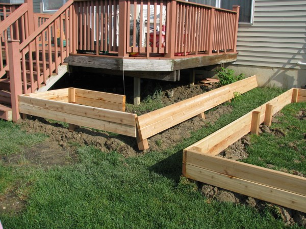 Building Garden Beds Day 3
