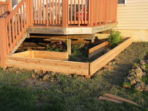 Building Garden Beds Day 4