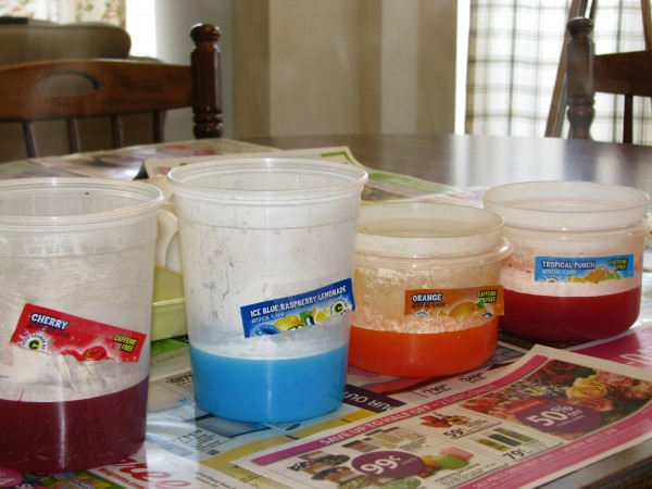 Easter Egg Kool-aid Dye