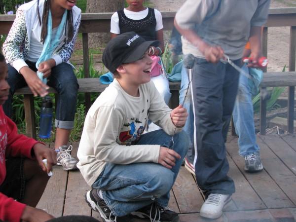 Kieran's 5th Grade Trip - Camp Fire