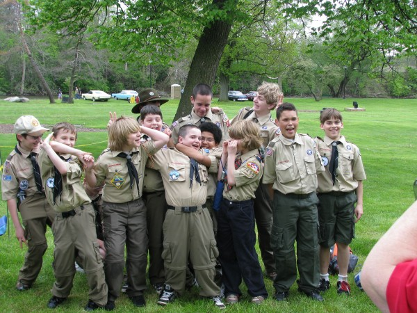 Most of Troop 240