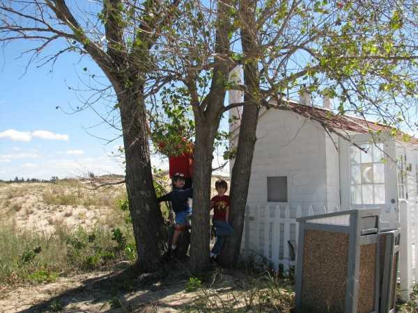 Big Sable Point Outhouse