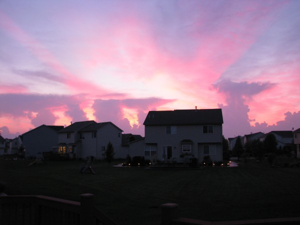 Sunset May 31, 2011