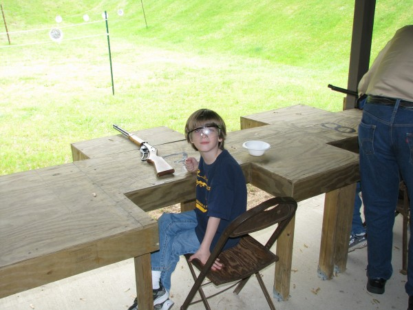 Owen At BB Guns