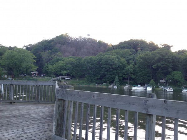 Mt. Baldhead From Town