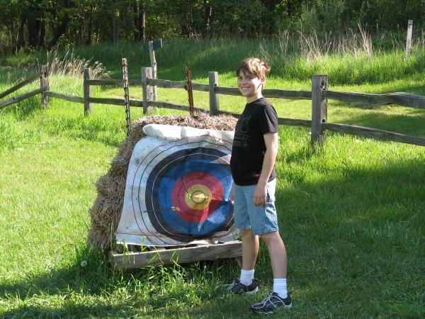Kieran's 5th Grade Trip - Archery Target