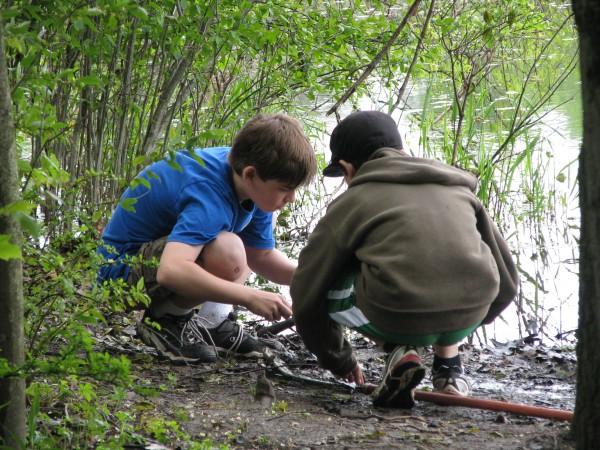 Kieran's 5th Grade Trip - Pond 2