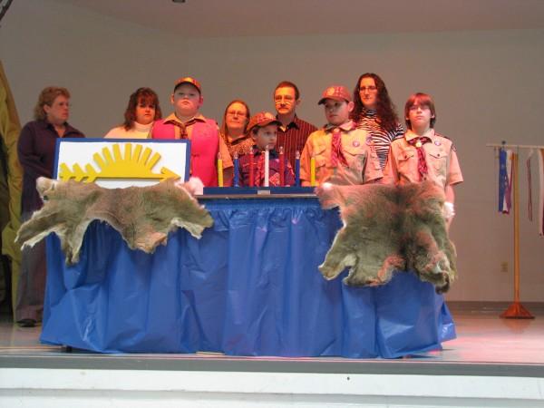 Cub Scout Den Family