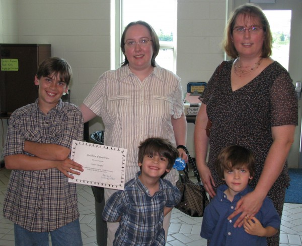 Kieran the Graduate and Family