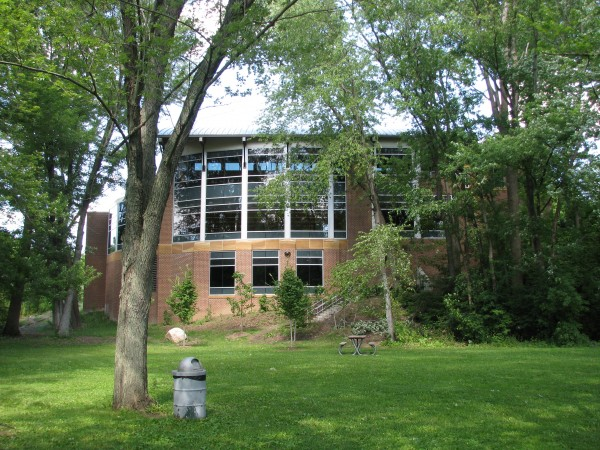 Dexter District Library From the Park
