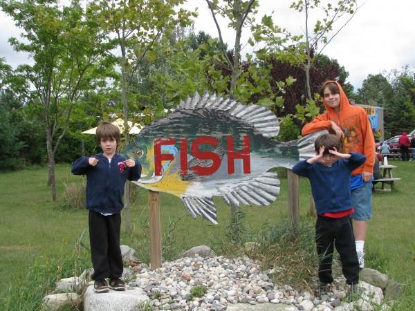 Bortells Fish Sign