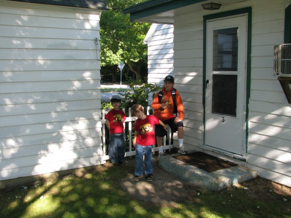 Kids at Lakeview Cottage #3