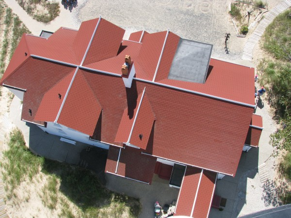 Big Sable Keepers Quarters From Above