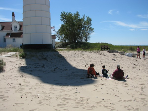 Big Sable Point Lighthouse Lunch