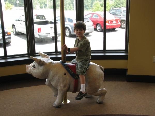 Crossville Library Carousel Declan