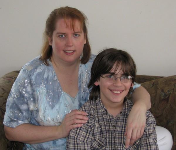 Mom and Kieran
