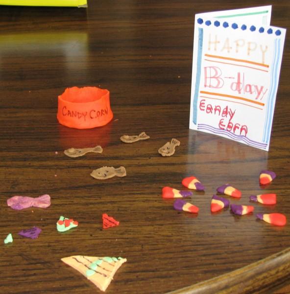 Candy Corn's Birthday Treats