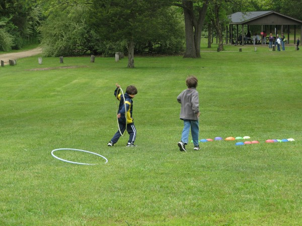 Obstacle Course Hoops