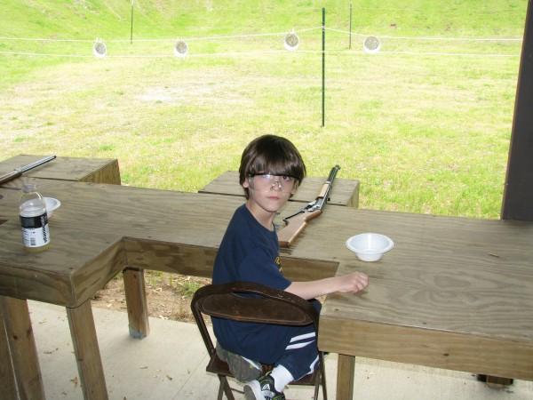 Declan At BB Guns