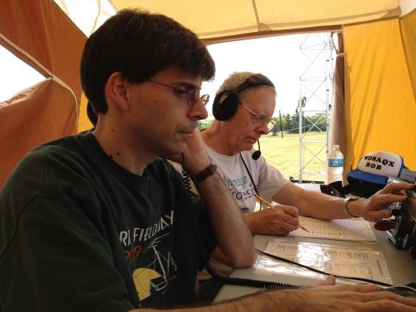 SLAARC Field Day - Phone 1